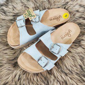 NWT Yokono Platform Sandals